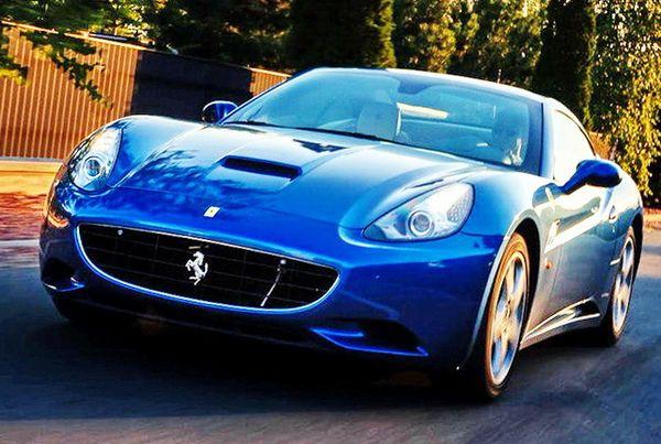 Ferrari California 2012 год заказать на свадьбу съемки