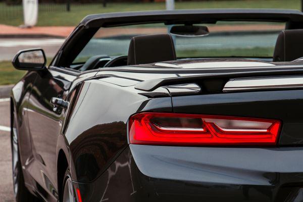 Chevrolet Camaro черный прокат аренда авто