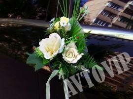 Викторианский-сад-бутоньерка заказать киев прокат бутоньерок на свадебное авто бутоньерки на машину киев