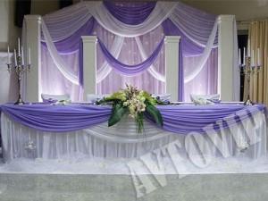 Украшение оформление свадебных залов свадебный декор