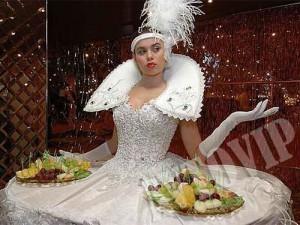 Свадебный живой стол на свадьбу Киев