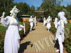 Свадебные живые кульптуры на свадьбу
