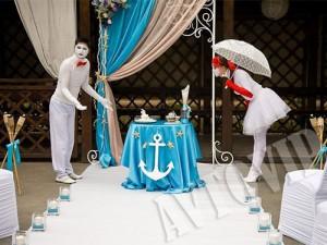 Свадебные мимы клоуны на свадьбу