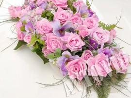 Композиция розовый аромат