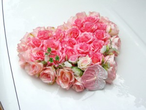 "Композиция ""Розовое сердце"""