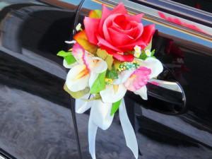 """Бутоньерка """"Красные розы"""""""