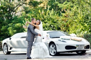 Аренда свадебного автомобиля с водителем