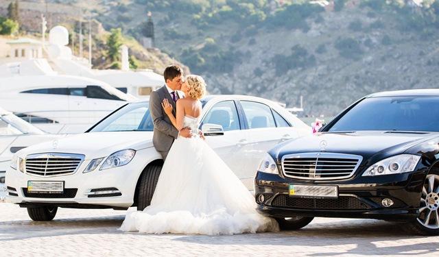 мерседес на свадьбу прокат аренда киев