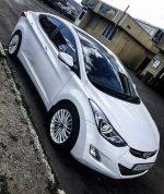 Аренда авто Hyundai Elantra белая Киев цена
