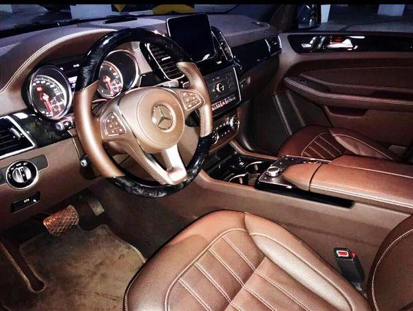 Mercedes Benz GLS 350d AMG 2017 на прокат с водителем на свадьбу