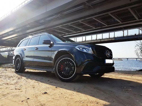 Mercedes GLS 63 AMG черный на свадьбу на прокат