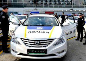 Аренда автомобиля полиции Киев