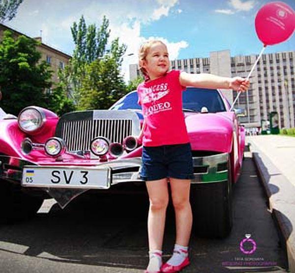Limuzin Excalibur Phantom розовый лимузин детский день рождения
