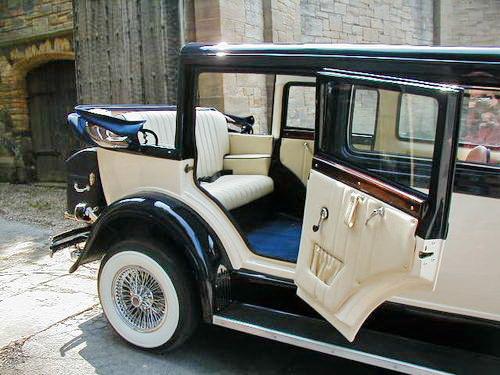 Al Capone ретро автомобиль кабриолет