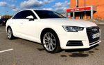 Прокат аренда Audi A4 белая Киев цена
