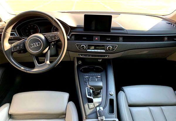 Audi A4 белая на прокат в киеве