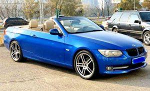 BMW 3 серии кабриолет заказать на свадьбу съемки