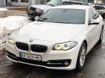 Аренда BMW 530 белая авто бизнес класса Киев цена