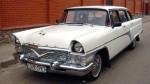 Аренда ретро автомобиля Chayka GAZ-13 белая Киев цена