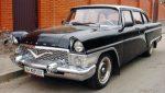 Прокат ретро автомобиля Chayka GAZ-13 черная Киев цена