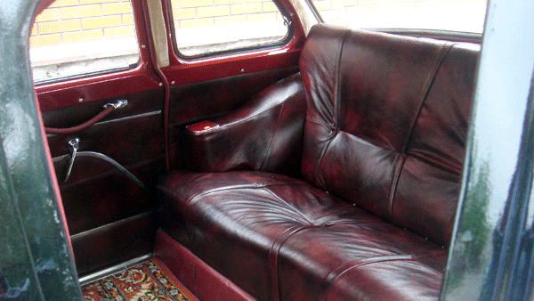 Chayka GAZ-13 черная ретро авто