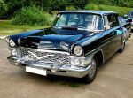 Аренда ретро автомобиля Chayka GAZ-13 черная Киев цена