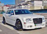 Аренда белый Chrysler 300C авто бизнес класса Киев цена