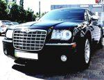 Аренда Chrysler 300C черный авто бизнес класса Киев цена
