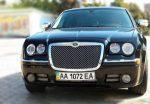 Аренда Chrysler 300C black авто бизнес класса Киев цена