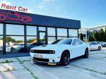 Прокат аренда Dodge Challenger 6.4 белый Киев цена