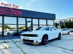 Прокат Dodge Challenger 6.4 белый без водителя с водителем
