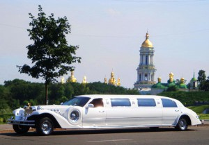 Excalibur Phantom белый лимузин