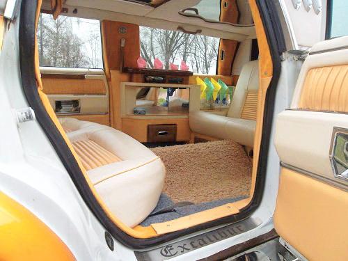 Excalibur ретро лимузин карамельный