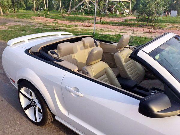 Ford Mustang кабриолет на свадьбу