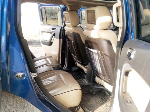 Hummer H3 синий прокат аренда киев
