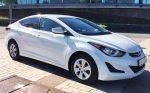 Аренда Hyundai Elantra белая