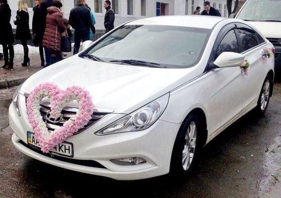 Hyundai Sonata NEW белая