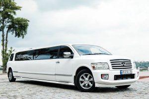 Infiniti QX 56 белый прокат аренда лимузин на свадьбу девичник день рождения на прокат