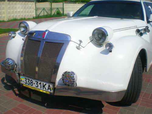 Limo Exclusive ретро лимузин белый