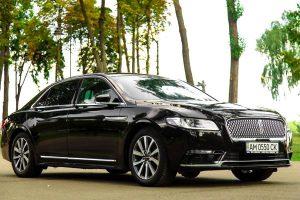 Lincoln Continental прокат аренда машины с водителем на свадьбу