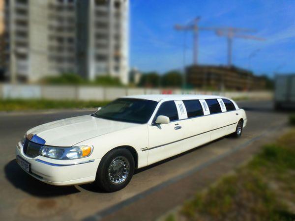 Lincoln Town Car 120 ванильный лимузин
