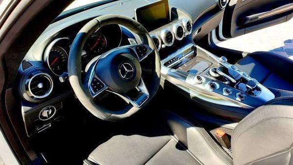 MERCEDES-AMG GT S спорткар аренда прокат с водителем