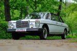 Прокат ретро автомобиля Mercedes 1969 белый Киев цена