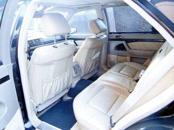 Mercedes 140 черный прокат аренда