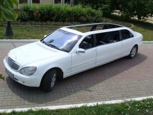 Mercedes W220 лимузин кабриолет