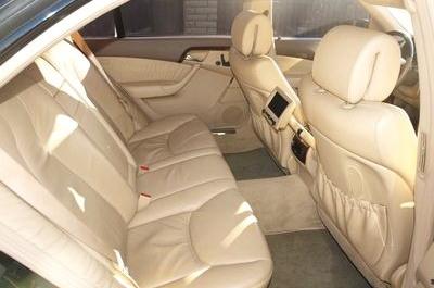 Mercedes 220 S класс черный