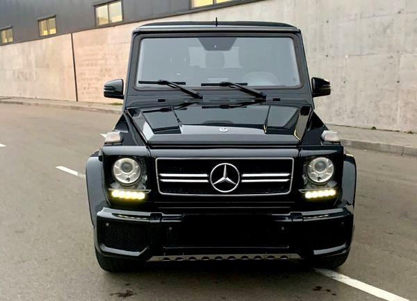 Mercedes-Benz G63AMG 2016 на прокат на свадьбу