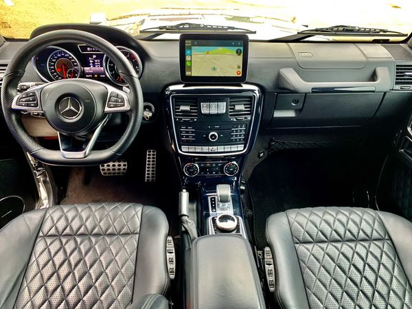 MERCEDES-BENZ G63AMG 5.5 BITURBO 2017 прокат аренда джипа