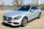 Аренда Mercedes C300 серебристый Киев цена