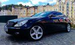 Аренда Mercedes CLS черный авто бизнес класса Киев цена